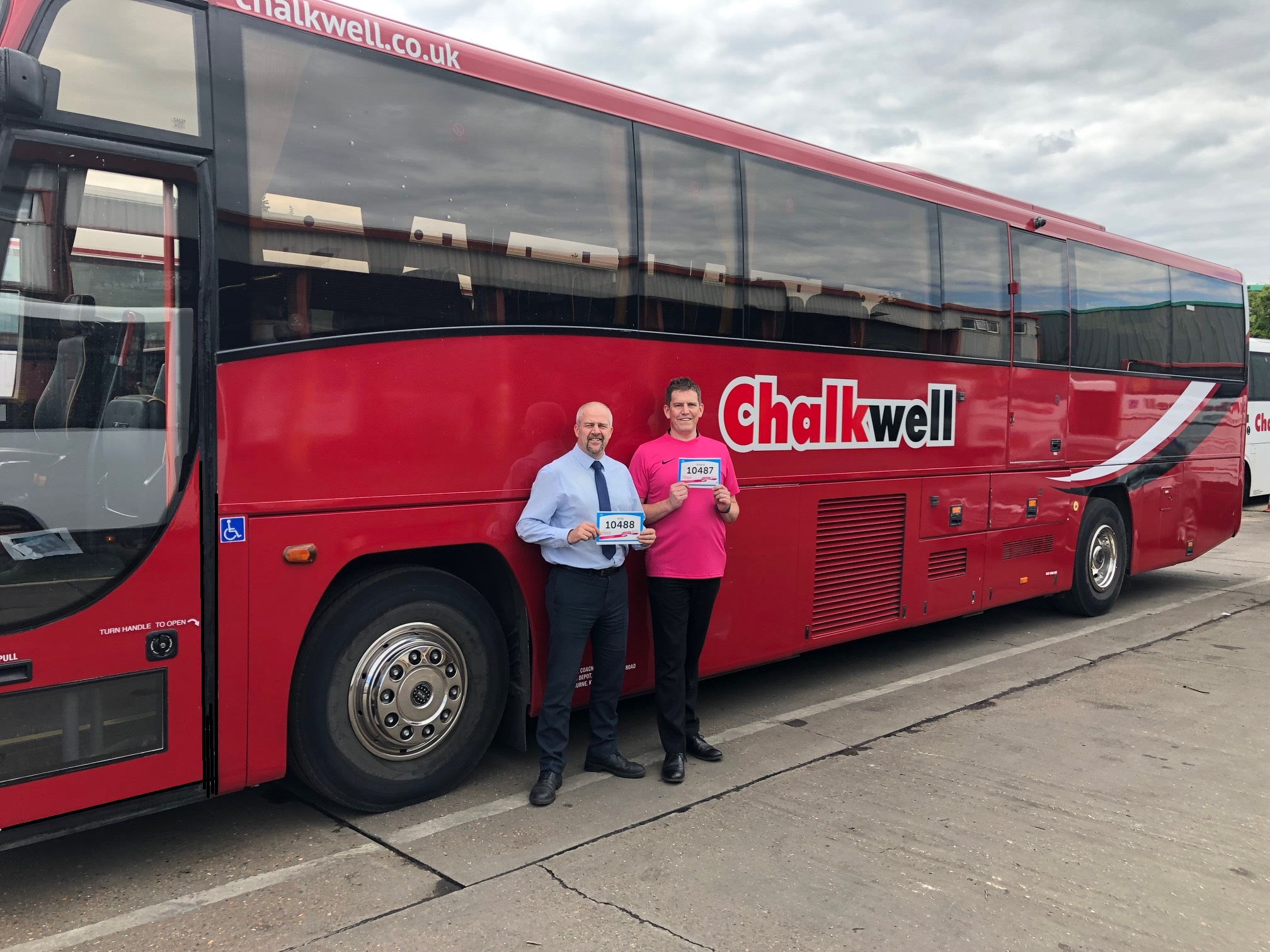Chalkwell Duo Join Race for Life